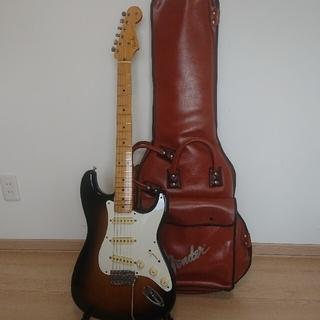 フェンダー(Fender)のfender japan ST-57-55 シリアルナンバーF(エレキギター)