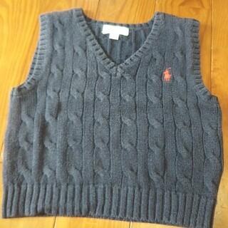 ラルフローレン(Ralph Lauren)のラルフローレン ニットベスト 80 男の子 セーター(ニット/セーター)