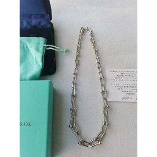 Tiffany & Co. - ティファニー ハードウェア リンク ネックレス 正規品 美品