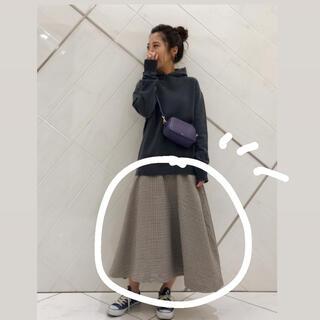 サニーレーベル(Sonny Label)の〇 大人気❗️sonnylabel ガンクラブチェックフレアスカート(ロングスカート)