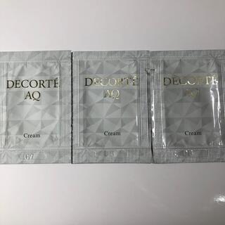 コスメデコルテ(COSME DECORTE)のコスメデコルテ   AQ クリーム 3包セット(フェイスクリーム)