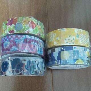 ソウソウ(SOU・SOU)のmt × sou sou 5種類②  sale  細マステ  5巻セット(テープ/マスキングテープ)