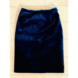 アーヴェヴェ(a.v.v)のミッシェルクラン パリ a. v. v スカート ブラック(ひざ丈スカート)