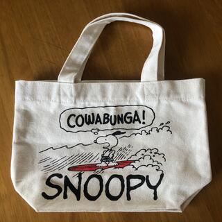 SNOOPY - 【新品】スヌーピー ミニトートバッグ