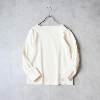 ORCIVAL - ORCIVAL オーシバル コットンロードフレンチバスクシャツ 無地