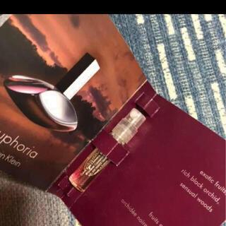 カルバンクライン(Calvin Klein)のカルバンクライン  香水 サンプル(香水(女性用))