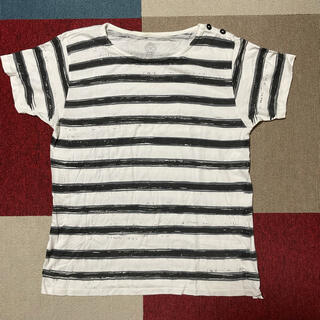 コモリ(COMOLI)のporter Classic 銀座限定 手描きボーダーT(Tシャツ/カットソー(半袖/袖なし))