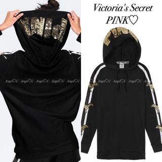ヴィクトリアズシークレット(Victoria's Secret)の新品♡Victoria's Secret PINK♡キラキラ✨豪華なパーカー(パーカー)