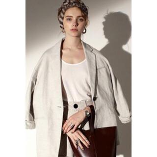 トゥデイフル(TODAYFUL)のTODAYFUL  oversize linen jacket(テーラードジャケット)