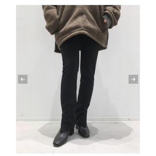 アパルトモンドゥーズィエムクラス(L'Appartement DEUXIEME CLASSE)のアパルトモン Wool Zip Leggings レギンス(レギンス/スパッツ)