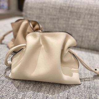 IENA - drawstring bag ホワイト