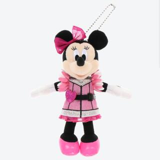 ミニーマウス(ミニーマウス)のクラブマウスビート ミニー ぬいぐるみバッジ(キャラクターグッズ)