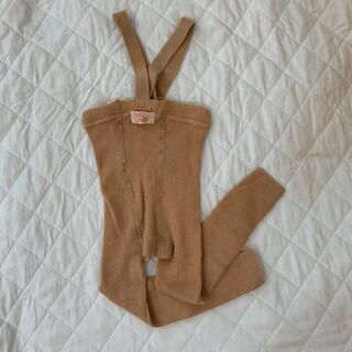キャラメルベビー&チャイルド(Caramel baby&child )のsilly silas  フットレスタイツ 74-80サイズ(靴下/タイツ)
