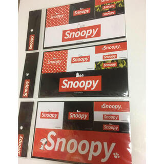 スヌーピー(SNOOPY)のSNOOPY スヌーピー ステッカー シール 3種類 1254円分(シール)