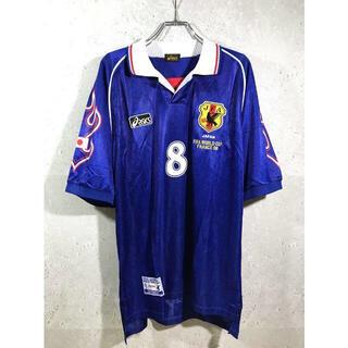 アシックス(asics)の日本代表 98年 フランスW杯 中田英寿 ホーム ユニフォーム(ウェア)