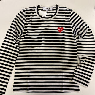 コムデギャルソン(COMME des GARCONS)のコムデギャルソン ボーダー ロンT  size S(Tシャツ(長袖/七分))