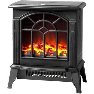 暖炉型ファンヒーター 暖炉型ストーブ 2段階切替 電気暖炉 マイクロストーブ