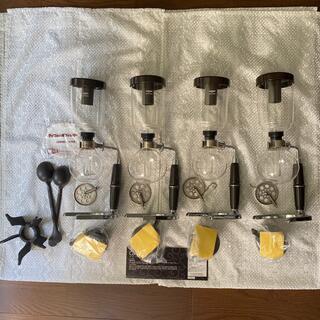 ハリオ(HARIO)のハリオ コーヒーサイフォン 4セット(コーヒーメーカー)