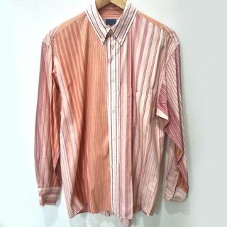 ケンゾー(KENZO)のKENZO マルチストライプ ボタンダウンシャツ Lサイズ(シャツ)