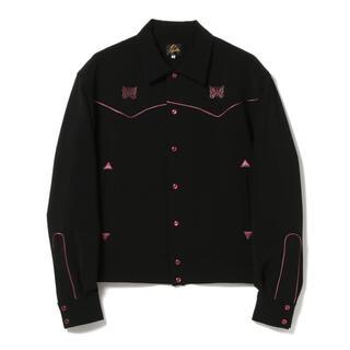 Needles - ニードルス NEEDLES パイピング カウボーイ シャツ ジャケット 黒 S