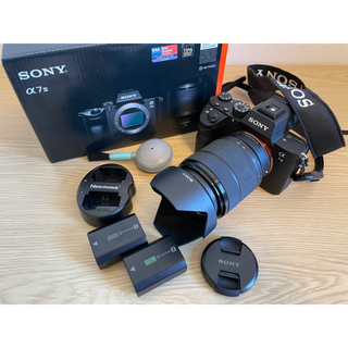SONY - SONY デジタル一眼カメラ α7 IIIズームレンズキット