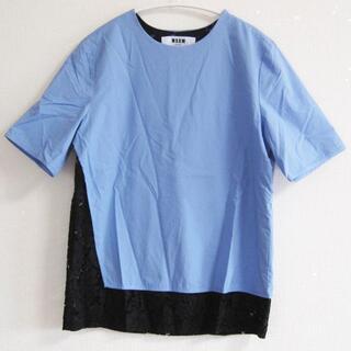 エムエスジイエム(MSGM)のMSGMエムエスジイエム ブラウス カットソー(Tシャツ(半袖/袖なし))