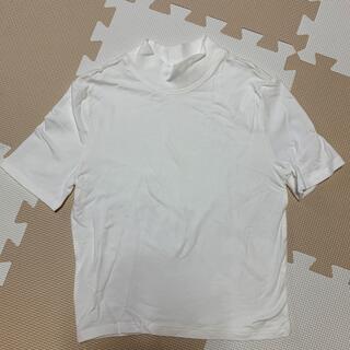 エイチアンドエム(H&M)のクロップド丈(Tシャツ(半袖/袖なし))
