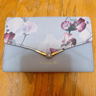 4℃ - Luria4℃ マルチミニ財布 パスケース 花柄