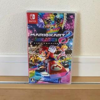 ニンテンドースイッチ(Nintendo Switch)のSwitch マリオカート8 デラックス 新品(家庭用ゲームソフト)