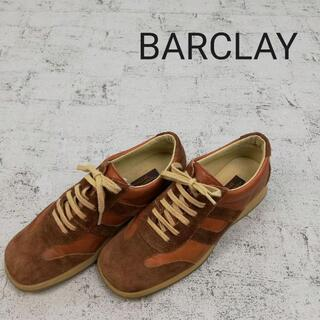BARCLAY - BARCLAY バークレー ローカットスニーカー