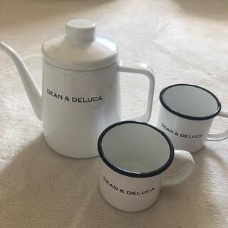 DEAN & DELUCA - DEAN&DELUCA✧ホーローケトル&ホーローマグカップ