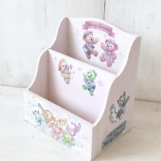 ダッフィー(ダッフィー)のダッフィー☆スターリードリームス♡2スタンド小物入れ♡シェリーメイ、ジェラ(雑貨)