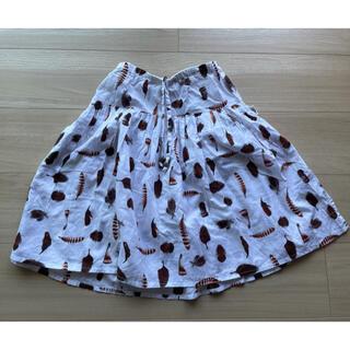 コドモビームス(こども ビームス)のfeather drum フェザー柄スカート size100〜110(スカート)