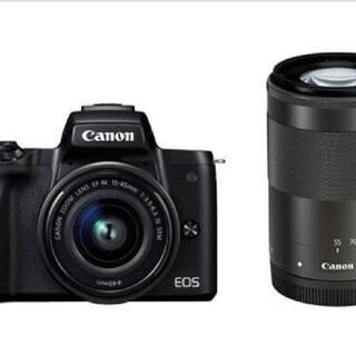 Canon - 【新品未開封】CANON(キャノン)EOS Kiss M ダブルズームキット
