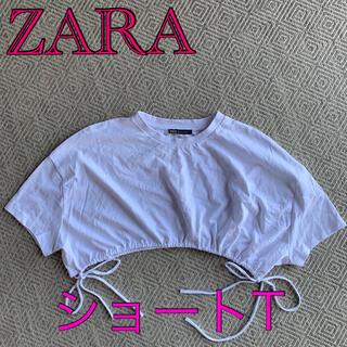 ZARA - 新品 ZARA ショート丈Tシャツ♤