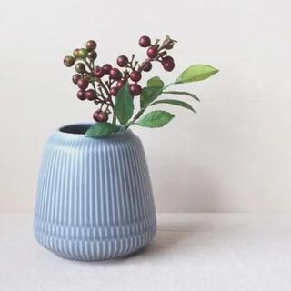 美濃焼 さざなみ 花入れ 花瓶 フラワーベース