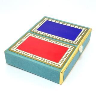 ティファニー(Tiffany & Co.)のティファニー トランプ セット インテリア トランプ パープル/レッド(彫刻/オブジェ)