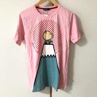 ドラッグストアーズ(drug store's)のドラッグストアーズ ぶた 富士山 新品 未使用 半袖 レディース トップス(Tシャツ(半袖/袖なし))
