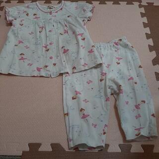ミキハウス(mikihouse)のパジャマ ミキハウス りーなちゃん 80センチ(パジャマ)