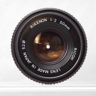 リコー(RICOH)のRICOH RIKENON 50mm F2.0 K - mount(レンズ(単焦点))