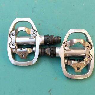 シマノビンディングペダル PD-A520 SPD 片面 ペダル