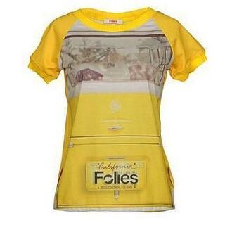 エムエスジイエム(MSGM)のインポート BLUEGIRL Folies イタリア製 半袖Tシャツ(Tシャツ(半袖/袖なし))