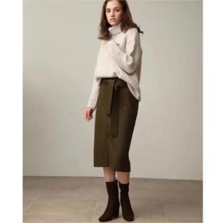 ミラオーウェン(Mila Owen)の値下げ ミラオーウェン  ウールスカート(ひざ丈スカート)