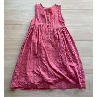 コドモビームス(こども ビームス)の韓国子供服/benebene バックリボン ノースリーブワンピース 6y(ワンピース)