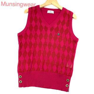 Munsingwear - Munsingwear マンシングウェア ゴルフウェア ニットベスト 4015