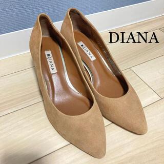 DIANA - 【美品DIANAチャンキーヒールパンプス】