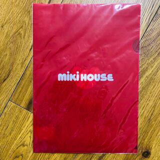 ミキハウス(mikihouse)のミキハウス ファイル 新品 未使用 クリアファイル くま(ファイル/バインダー)
