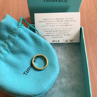Tiffany & Co. - 超美品 TIFFANY  スタッキングバンド リング K18YG 3.8g