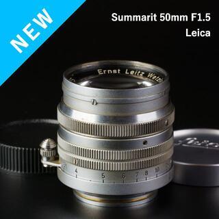 LEICA - 癖強め!魅惑のボケ玉!Leica Summarit 50mm f1.5
