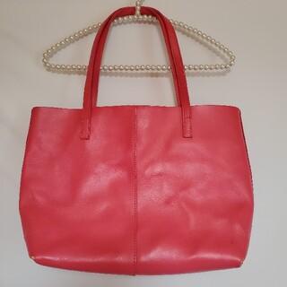 リエンダ(rienda)のリエンダ ピンクバック 鞄(ハンドバッグ)